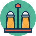 Salt Shaker Kitchen Accessory Icon