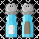 Salt Pepper Bottle Icon