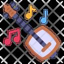 Musical Instrument Guitar Shamisen Icon