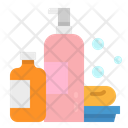 Shampoo Soap Bathing Icon