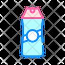 Shampoo Bottle Color Icon