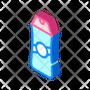 Shampoo Bottle Isometric Icon