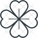 Shamrock Clover Four Icon