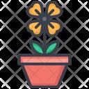 Shamrock Pot Plant Icon