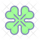 Shamrock Flower Patrick Icon