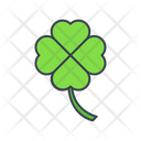 Shamrock Clover Leaf Icon