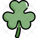 Shamrock Leaf Clover Icon