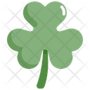 Shamrock Leaf Saint Patricks Day Icon