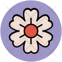 Shamrock Shape Flower Icon