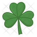 Shamrock Three Leaves Icon