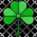 Shamrock Leaf Natural Icon