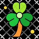 Shamrock Clover Leaf Icon
