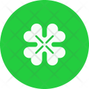Shamrock Flower Patrick Icon