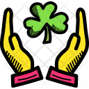 Shamrock Three Clover Icon