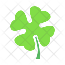 Shamrock Four Clover Icon