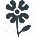 Shamrock On Stem Icon