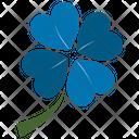 Shamrock Flower Icon
