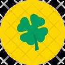 Shamrock Four Clover Icon