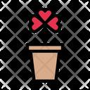 Saint Shamrock Plant Icon