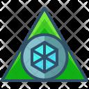 Sacred Triangle Shape Icon
