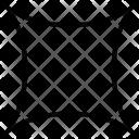 Shape Cushion Square Icon