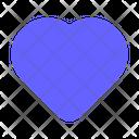 Shape Heart Shape Love Icon