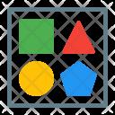 Shape Square Triangle Icon