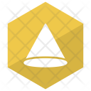 Shape Cone Geometry Icon