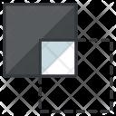 Shape behind Icon