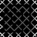 Shape Split Icon