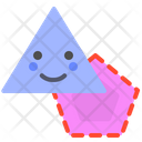 Polygon Shapes Triangle Icon