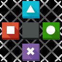 Shapes Arrow Control Icon