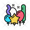 Shapes Balloons Color Icon