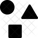 Shapes Triangle Circle Icon