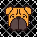 Shar Pei Dog Puppy Icon