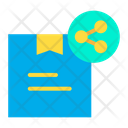 Share Delivery Share Parcel Delivery Icon