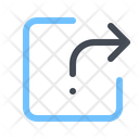 Share Arrow All Icon