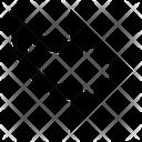 Share Diagonal Right Icon