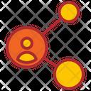 Share User Share Marketing Icon