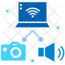 Share Wireless Connection Wifi Icon