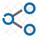 Share Network Data Icon