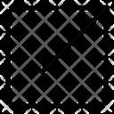 Upper Right Arrow Arrow Direction Icon