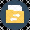 Share Folder Transferring Icon