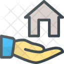 Share Care Apartment Icon