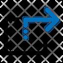 Share Arrow Direction Icon