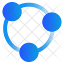 Share Link Network Icon
