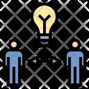 Share Idea Exchange Icon