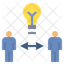 Share Idea Exchange Icon