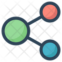 Connection Share Social Icon
