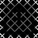 Share Sharing Up Arrow Icon